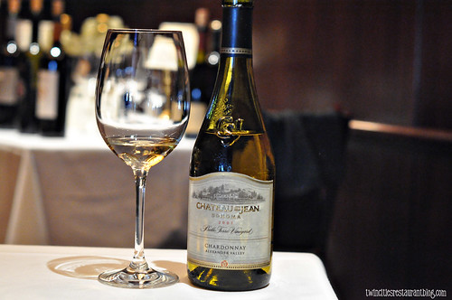 Chateau St Jean Chardonnay at The Capital Grille ~ Minneapolis, MN