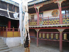 Inside the Qugu Monastery (Saumil U. Shah) Tags: mountain lake mountains nature trekking trek canon hiking hike tibet monastery journey himalaya spiritual shiva hindu hinduism kailash yatra jain pilgrimage himalayas shah mansarovar manasarovar jainism kailas  saumil kmy  qugu  kmyatra saumilshah