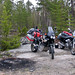 Africa Twin. Camping Russian style