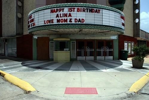 edna theatre marquee