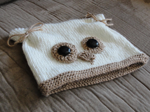 """Owl Eyes on You"" hat 2"