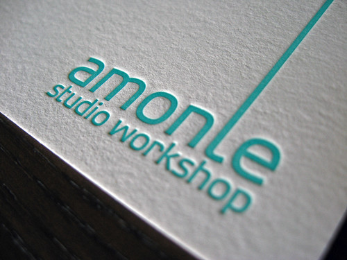 Amonle Studio Letterpress Cards