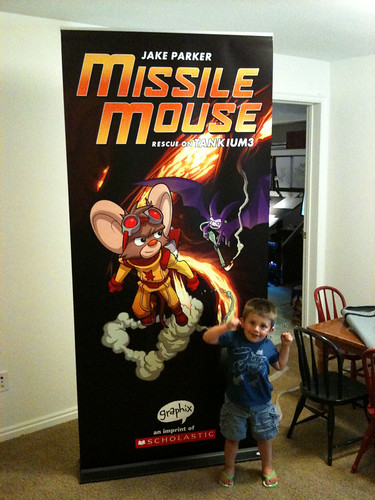 San Diego Comic Con Missile Mouse Banner