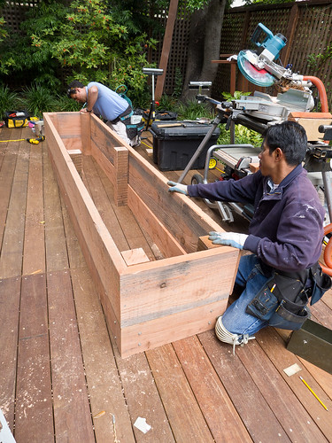 Day 13: Planter box construction III