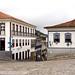 Praça Tiradentes, em Ouro Preto