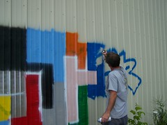 (Asheville GreenWorks) Tags: graffiti asheville paintover riverartsdistrict