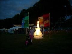 Stupa at evening 5