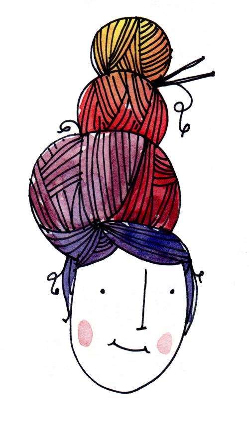 yarn hair