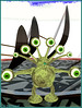 Pixels Sideways (Tim Deschanel) Tags: life eye monster tim avatar oeil sl second pixels fukushima sideways erato deschanel monstre alea carleon despres npirl artée artistide eratoofcarleon