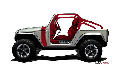 Jeep Wrangler Pork Chop by lee.ekstrom