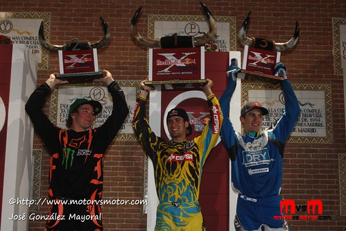 Red Bull X-Figthers Madrid 2011 1.Dany Torres 2. Blake Williams 3. Josh Sheehan