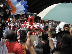 Raising of the casket and the Funeral of Lionel Delpit, Chief Black Feather (Christopher Porch West - A Studio On Desire) Tags: neworleans mardigrasindians blackfeather christopherporchewest lioneldelpit