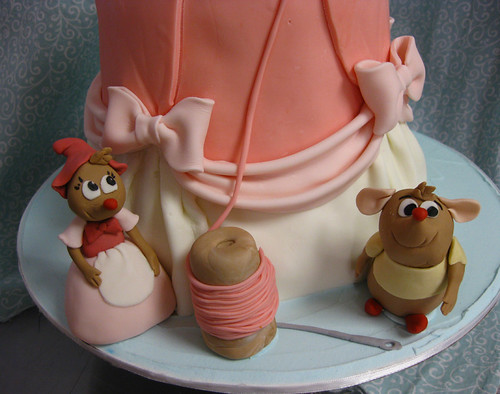 Cinderella's Dress Mice Cake
