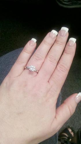 """I""""m engaged!!!"""