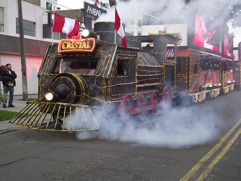 Locomotora Cristal