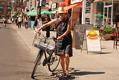 What's Bike Parking in Kensington Market Like?