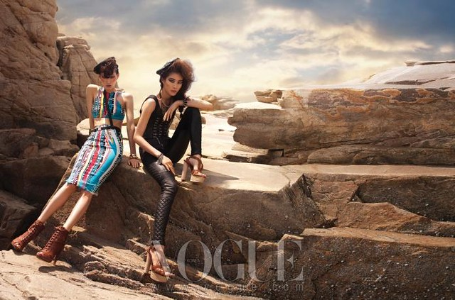 vogue korea biker angels 01