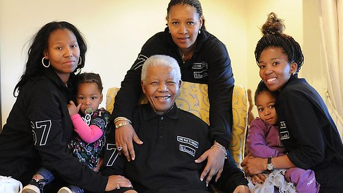 Former South African President and African National Congress leader Nelson Mandela. He celebrated his 93rd birthday on July 18, 2011. by Pan-African News Wire File Photos