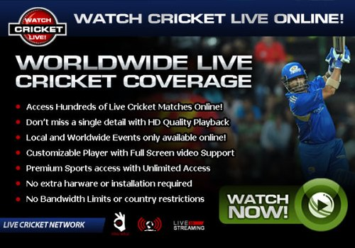 Watch online cricket