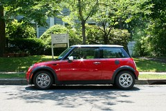 Red Mini ~ Spotted At The Women's Club Of Montclair