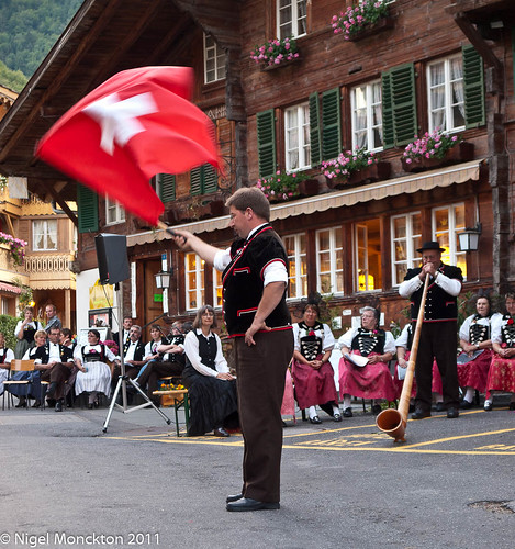 1000/489: 05 July 2011: Swiss flag-throwing by nmonckton