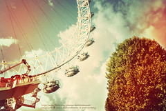 London Eye .. (@AbdulrahmanKLF) Tags: city uk bridge england london eye westminster thames angel river landscape nikon exposure different jubilee south bank tourist explore scapes