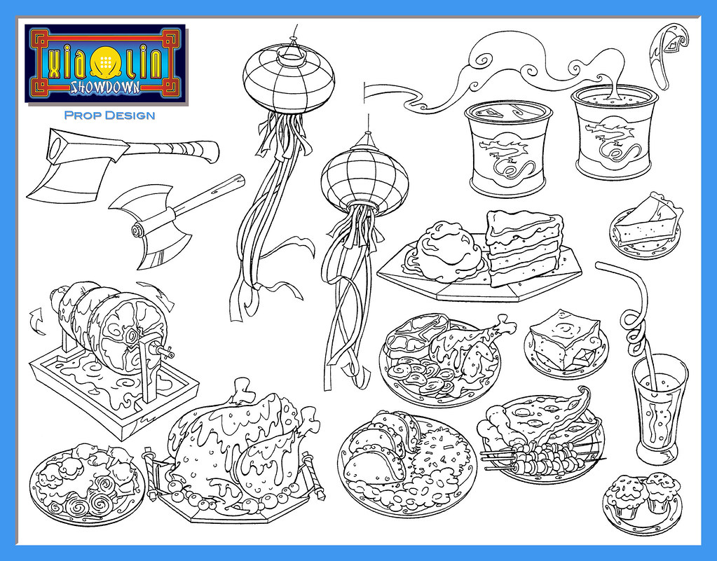 xiaolin showdown coloring pages - photo#50