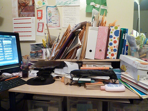 Don T Judge My Messy Desk And Home Office I M Not The Nanny