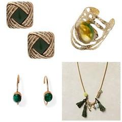 green jewellery
