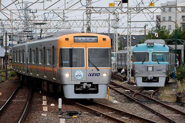 京王電鉄井の頭線1000系1027F 2011年度夏季安全輸送推進運動HM取付