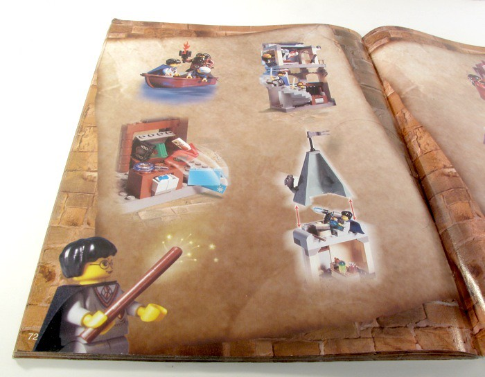 lego hogwarts castle instructions 4709