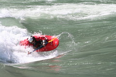 Play waves on the Tamur  Adventure rafting and Kayaking river trip