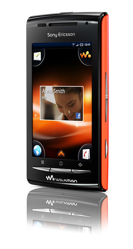 W8 walkman android phone