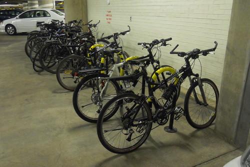 Police Bike Parking
