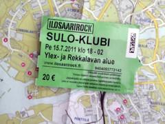 Ilosaarirock 2011 Sulo-Klubi