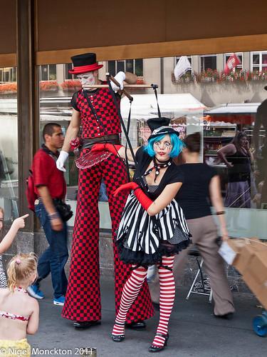 Street performers, Bern