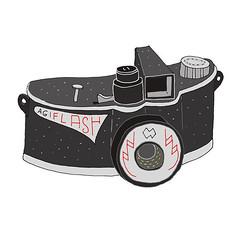 agilux agiflash (anna.rodighiero) Tags: camera illustration vintage agilux agiflash