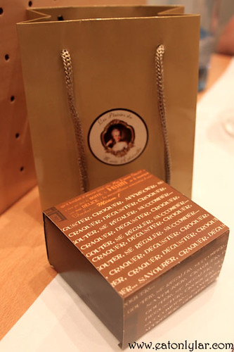 Box of macarons, Les Plaisirs de Marie Antoinette