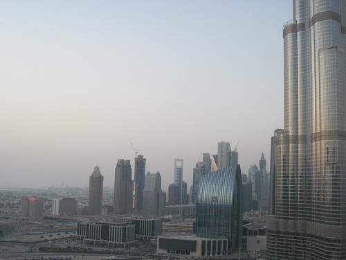 View of the Burj - July 2011