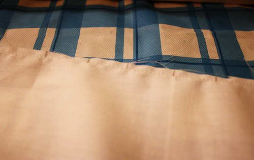 Pin tucks, pleats and french seams