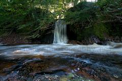 "Esk waterfall 1 (""Mr Mike"") Tags: water river landscape scotland waterfall scottish 1020 uwa d90 mrmike glenesk mrmikephotography rocksofsolitudefalls"