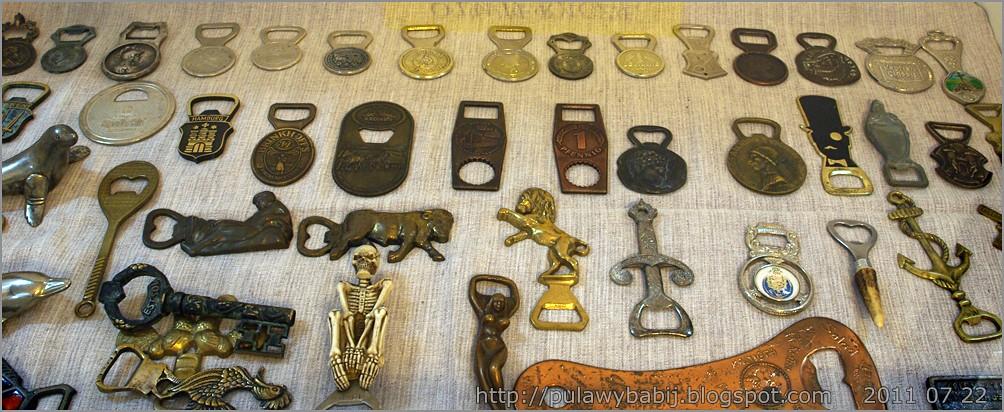 Kolekcja otwieraczy w Muzeum Ziemi Biłgorajskiej