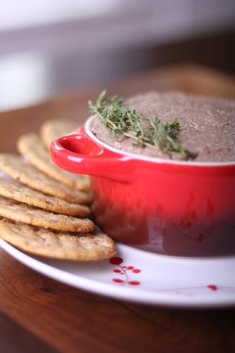 Mushroom-Walnut Paté