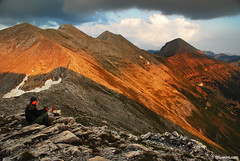 7 days in Pirin (.:: Maya ::.) Tags: sunset mountain nature beauty trekking landscape outdoor peak bulgaria alpenglow refuge  pirin  zaslon vihren       konche   mayaeye mayakarkalicheva  wwwmayaeyecom