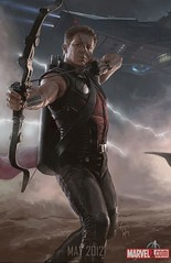110725(2) - Visualizing the Marvel Cinematic Universe 2 鷹眼 Hawkeye