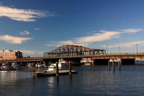 Charlestown Swing Bridge, Boston