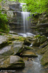 Burden Falls from Below (schwaegler) Tags: waterfall illinois spring il harrisburg shawneenationalforest burdenfalls