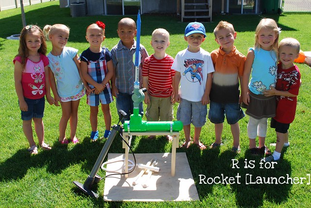R is for Rocket Launcher
