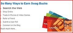 Earn at Swagbucks.com