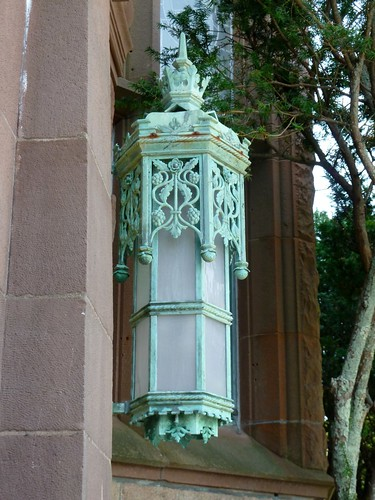 Detail - Entrance light